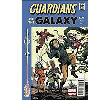 Guardians of the Galaxy Rare Cover Variant Edition Photographic Print