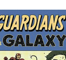 Guardians of the Galaxy Rare Cover Variant Edition by mar20
