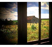 The Panes of Time Photographic Print