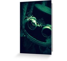 Steampunk Gentlemen's Hat 1.2 Greeting Card
