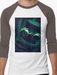Steampunk Gentlemen's Hat 1.2 Men's Baseball ¾ T-Shirt