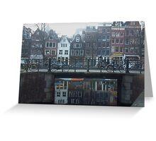 Dutch Bicycles Greeting Card
