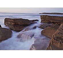 Silky Rock Photographic Print