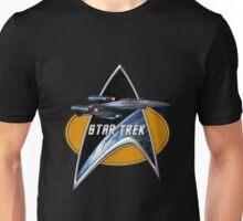 StarTrek Enterprise Galaxy Class Dreadnought  Command Signia Chest Unisex T-Shirt