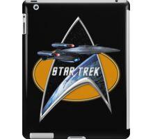 StarTrek Enterprise Galaxy Class Dreadnought  Command Signia Chest iPad Case/Skin