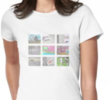 MY PHOTO DIARY Womens Fitted T-Shirt