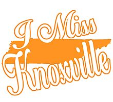 I MISS KNOXVILLE Photographic Print