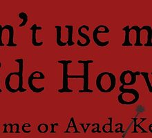 I can't use magic outside hogwarts - Gryffindor by TimonPower77