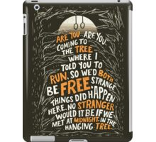 Hunger Games - The Hanging Tree  iPad Case/Skin