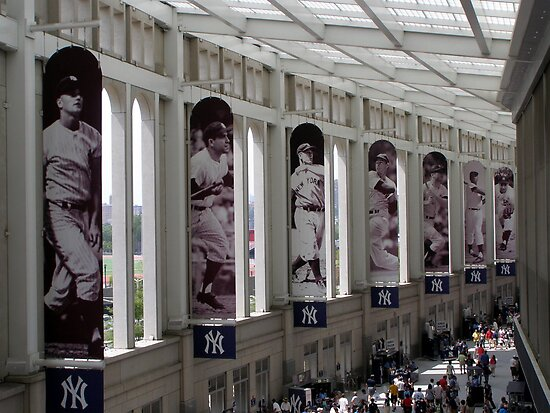 Yankee Stadium Interior 1 by Christine Sullivan