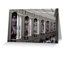 Yankee Stadium Interior 1 Greeting Card