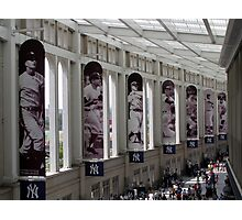 Yankee Stadium Interior 1 Photographic Print