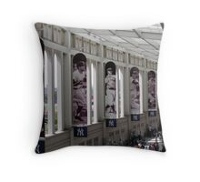 Yankee Stadium Interior 1 Throw Pillow