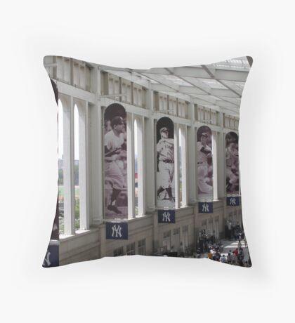 Yankee Stadium Interior 1 Throw Pillow