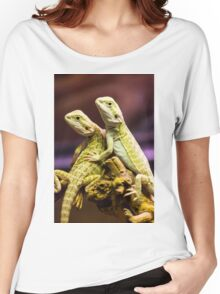Lizards in Love Women's Relaxed Fit T-Shirt