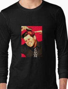 JFK doing his part Long Sleeve T-Shirt