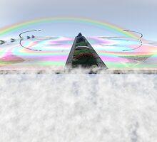 The Rainbow Bridge by Sazzart