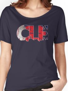 Cleveland, Ohio CLE Indians Shirts, Stickers, More Women's Relaxed Fit T-Shirt