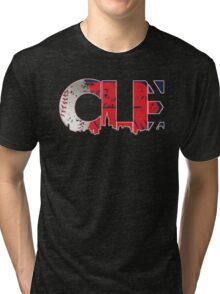 Cleveland, Ohio CLE Indians Shirts, Stickers, More Tri-blend T-Shirt