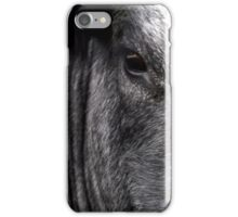What a moody cow iPhone Case/Skin