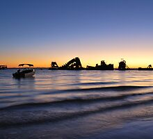 Tangalooma Wrecks by Tanya  Snowden