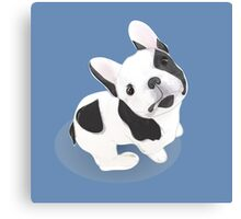BULLDOG cute! Dog lovers Canvas Print
