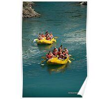 Floating The Flathead Poster