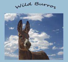 Wild Burros by Corri Gryting Gutzman