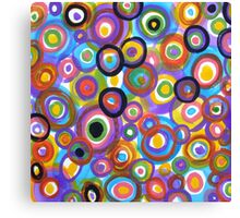 Going Round & Round Canvas Print