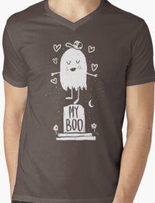 My Boo Mens V-Neck T-Shirt