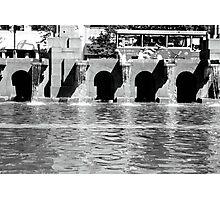 Fountain, Boston Photographic Print