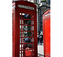 phone booths Photographic Print