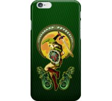 Triforce the mighty Link iPhone Case/Skin