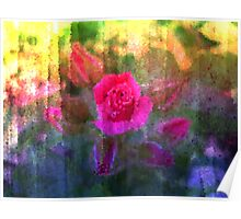 Painting Roses. Poster