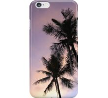 PALM TREES & SUNSET iPhone Case/Skin