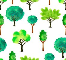 Trees eco by worldion