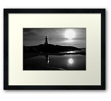 Late Day - Peggys Cove Framed Print