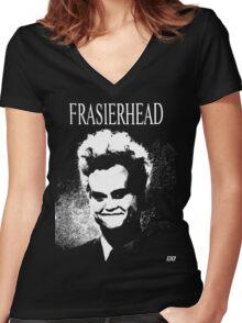 Frasierhead Women's Fitted V-Neck T-Shirt