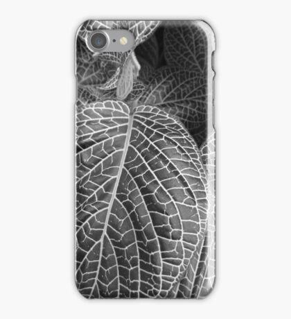Leaves in B&W iPhone Case/Skin