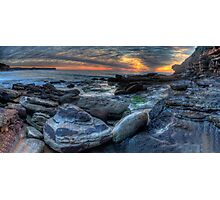 We Will Rock You - Warriewood  Headland, Sydney (30 Exposure HDR Panoramic) - The HDR Experience Photographic Print