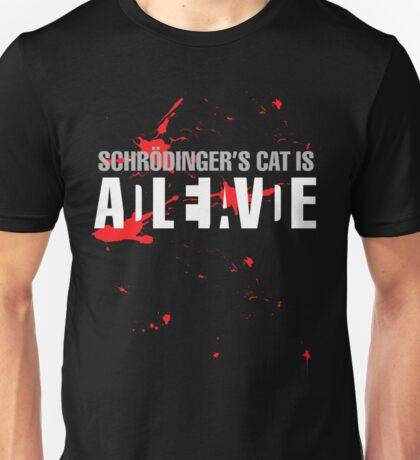 Schrödinger's Cat - Dark Colours Unisex T-Shirt