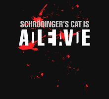 Schrödinger's Cat - Dark Colours Unisex T-Shirt