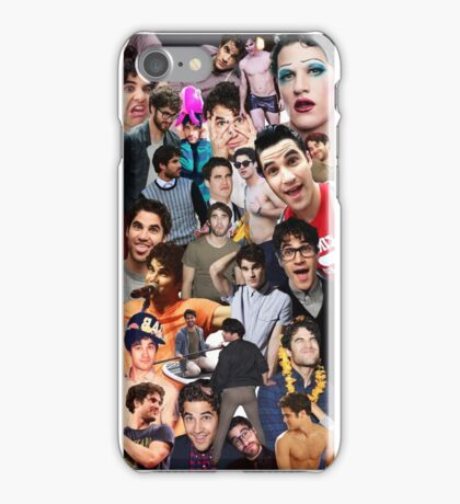 Darren Criss Collage iPhone Case/Skin