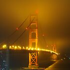 Golden Gate Bridge @ Night by cvrestan