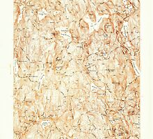 Massachusetts  USGS Historical Topo Map MA Paxton 350441 1937 24000 by wetdryvac