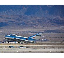 MiG 15 Trojan takes off Photographic Print