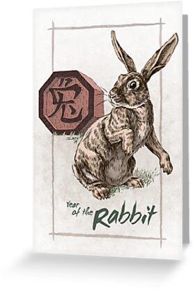 Chinese Zodiac - Year of the Rabbit by Stephanie Smith