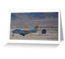 F-86 Sabre taking off Greeting Card