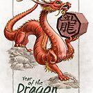 Chinese Zodiac - the Dragon by Stephanie Smith