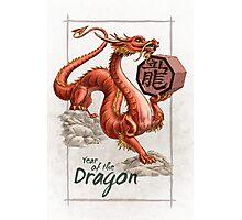 Chinese Zodiac - the Dragon Photographic Print
